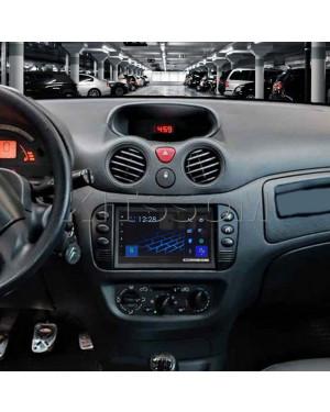 "Multimídia Pioneer Citroen C3 2003 a 2008 2009 2010 2011 2012 Carplay Android Auto TV 7"""